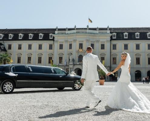 Stretchlimousine für Hochzeit mieten