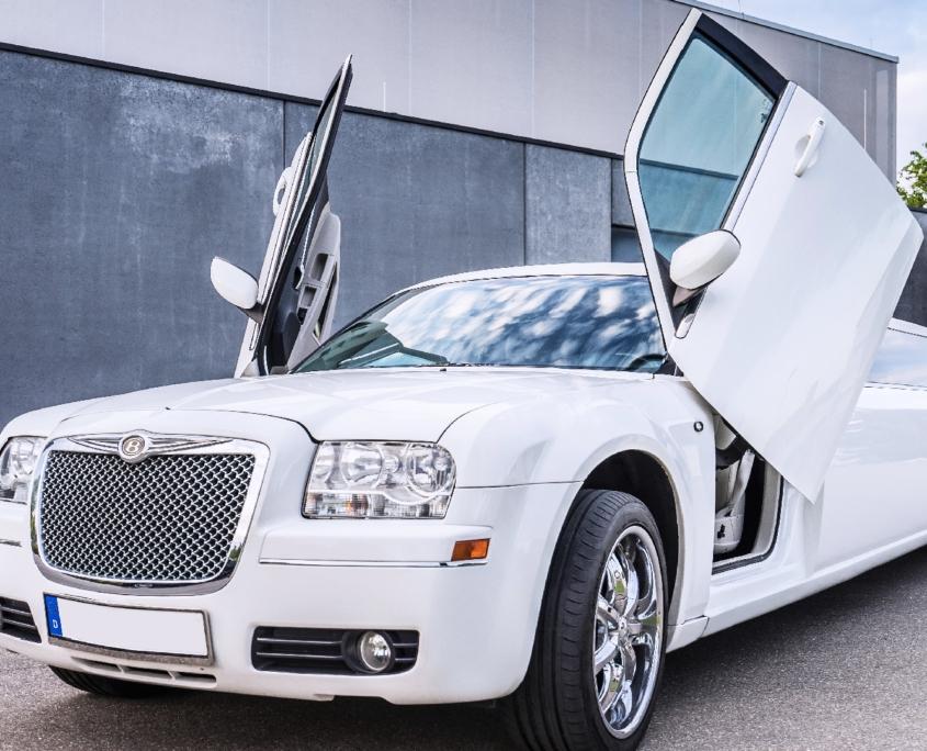 Chrysler Stretchlimo für Hochzeit