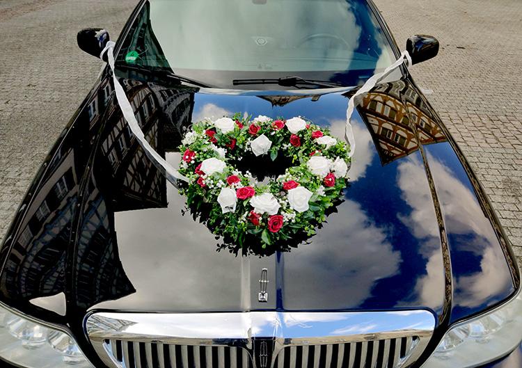 Blumengesteck Herz